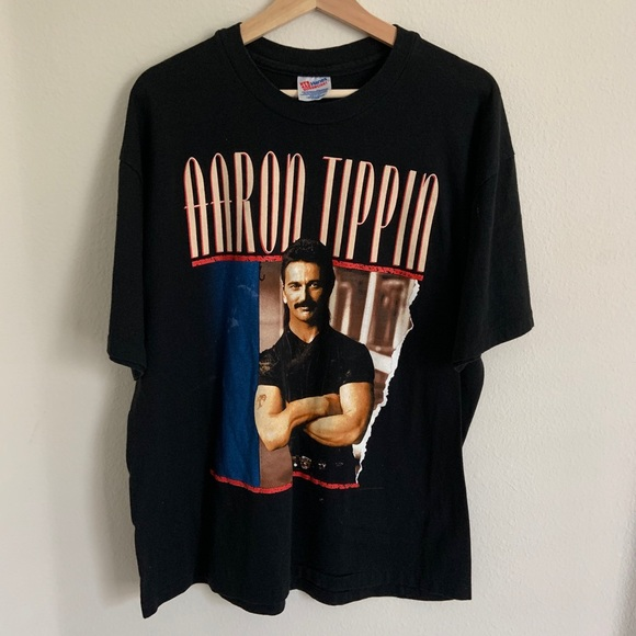 Hanes Other - VINTAGE Aaron Tippin T-Shirt